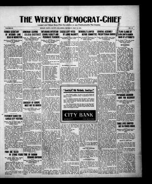 Primary view of object titled 'The Weekly Democrat-Chief (Hobart, Okla.), Vol. 20, No. 43, Ed. 1 Thursday, May 19, 1921'.