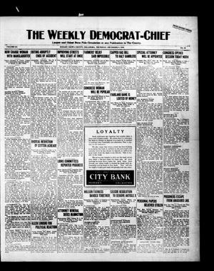 Primary view of object titled 'The Weekly Democrat-Chief (Hobart, Okla.), Vol. 20, No. 20, Ed. 1 Thursday, December 9, 1920'.