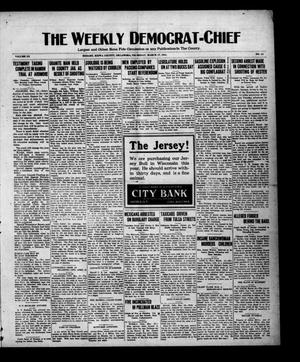Primary view of object titled 'The Weekly Democrat-Chief (Hobart, Okla.), Vol. 20, No. 34, Ed. 1 Thursday, March 17, 1921'.