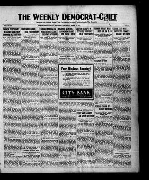 Primary view of object titled 'The Weekly Democrat-Chief (Hobart, Okla.), Vol. 20, No. 32, Ed. 1 Thursday, March 3, 1921'.