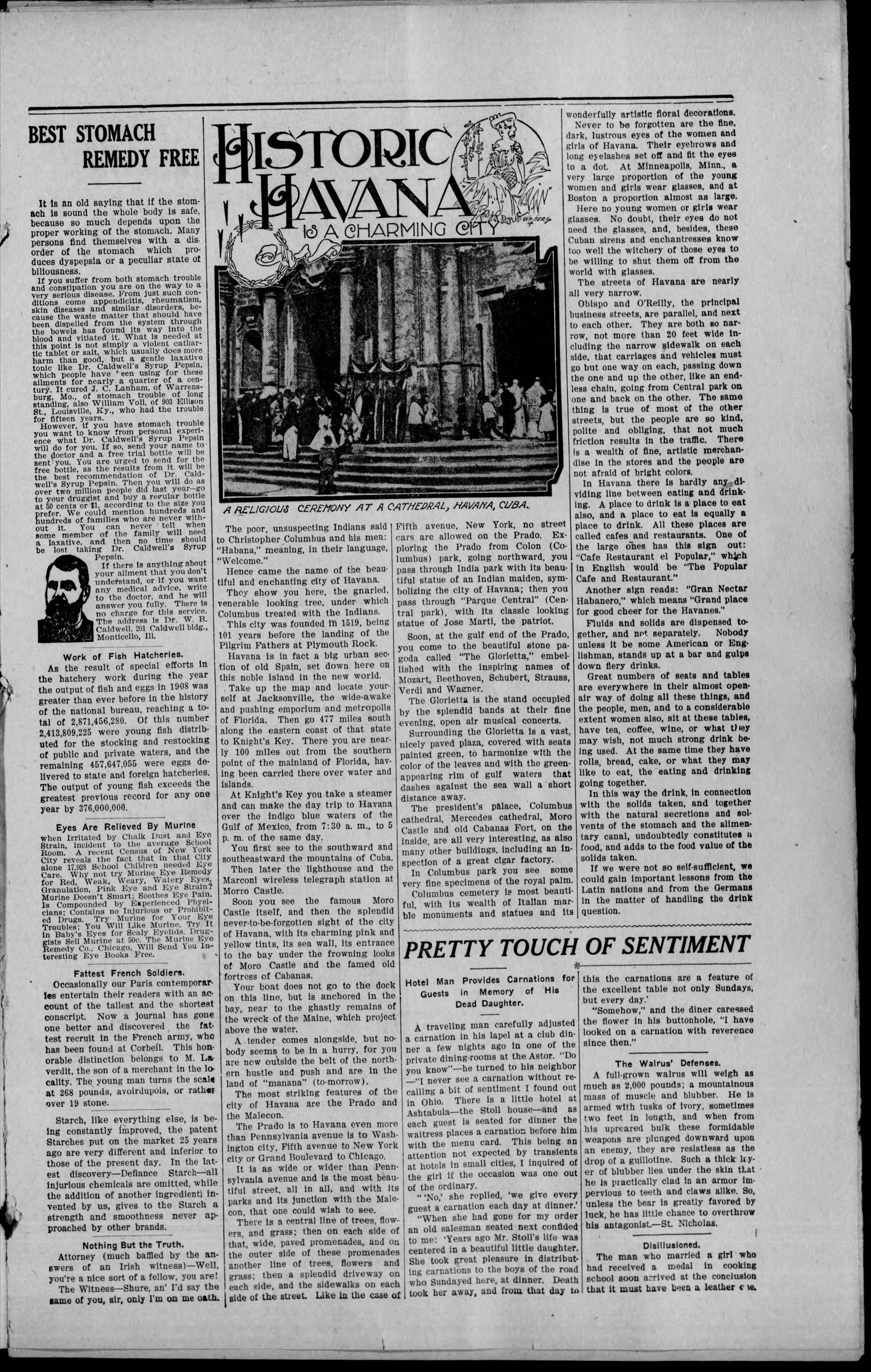 LaKemp Mirror (LaKemp, Okla.), Vol. 1, No. 2, Ed. 2 Thursday, June 24, 1909                                                                                                      [Sequence #]: 3 of 6