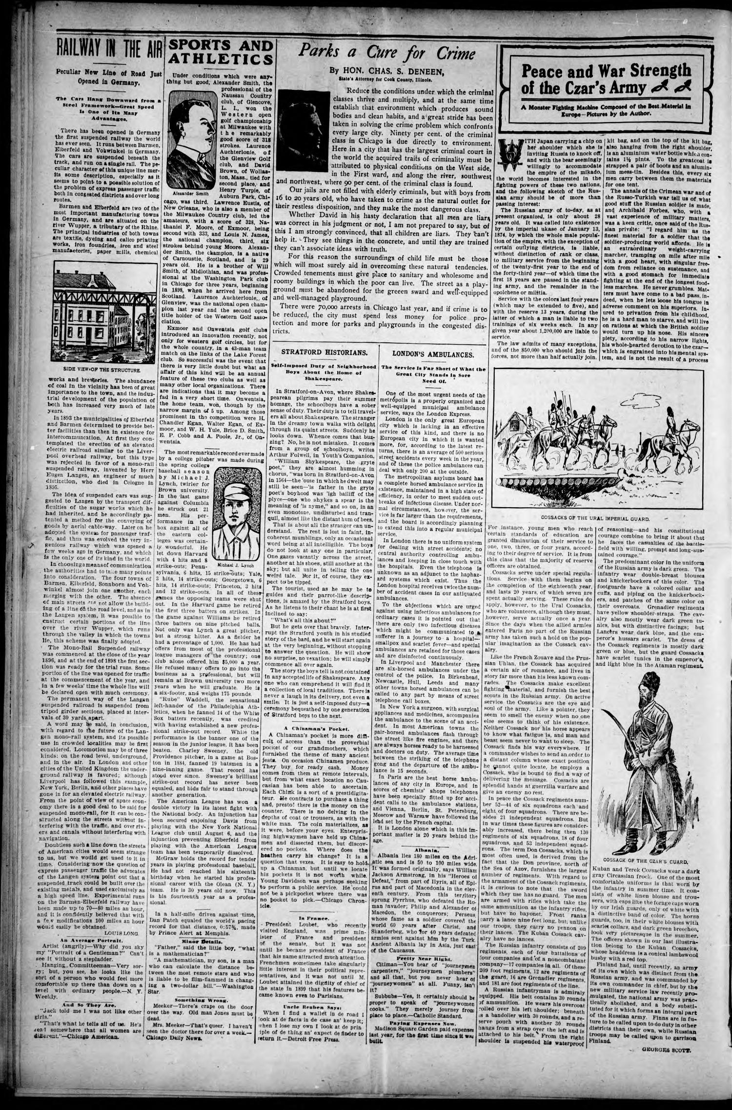The Reporter. (Chelsea, Indian Terr.), Vol. 9, No. 14, Ed. 1 Friday, August 7, 1903                                                                                                      [Sequence #]: 2 of 8