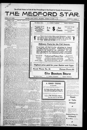 Primary view of The Medford Star. (Medford, Okla.), Vol. 13, No. 20, Ed. 1 Thursday, October 18, 1906
