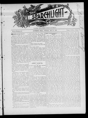 Primary view of object titled 'The Searchlight (Guthrie, Okla.), Vol. 4, No. 390, Ed. 1 Friday, May 25, 1906'.