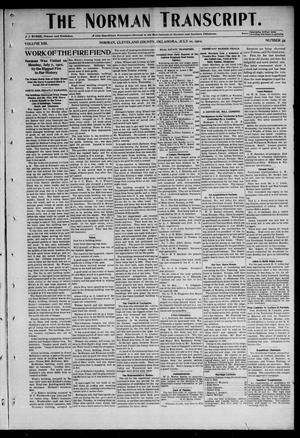 Primary view of object titled 'The Norman Transcript. (Norman, Okla.), Vol. 13, No. 35, Ed. 1 Thursday, July 10, 1902'.