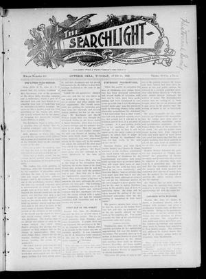 Primary view of object titled 'The Searchlight (Guthrie, Okla.), Vol. 4, No. 399, Ed. 1 Tuesday, June 26, 1906'.
