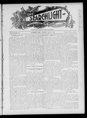 Primary view of object titled 'The Searchlight (Guthrie, Okla.), Vol. 4, No. 388, Ed. 1 Friday, May 18, 1906'.