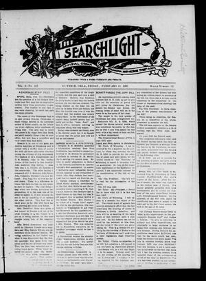 Primary view of object titled 'The Searchlight (Guthrie, Okla.), Vol. 4, No. 102, Ed. 1 Friday, February 16, 1906'.