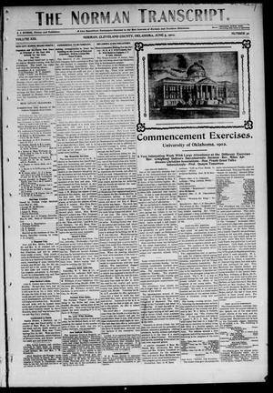 Primary view of object titled 'The Norman Transcript. (Norman, Okla.), Vol. 13, No. 30, Ed. 1 Thursday, June 5, 1902'.