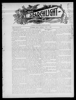 Primary view of object titled 'The Searchlight (Guthrie, Okla.), Vol. 4, No. 392, Ed. 1 Friday, June 1, 1906'.