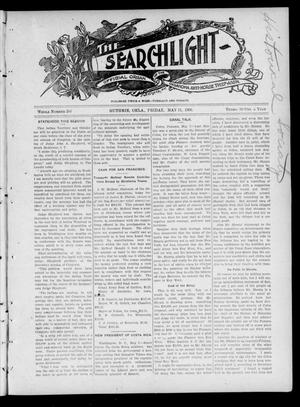 Primary view of object titled 'The Searchlight (Guthrie, Okla.), Vol. 4, No. 386, Ed. 1 Friday, May 11, 1906'.