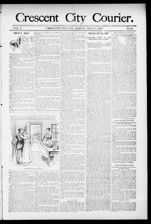 Primary view of object titled 'Crescent City Courier. (Crescent City, Okla. Terr.), Vol. 2, No. 19, Ed. 1 Friday, May 17, 1895'.