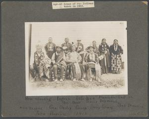 Primary view of object titled 'Otoe Tribe members.'.