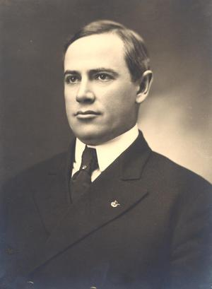 Primary view of object titled 'Governor Frank Frantz'.