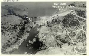 Primary view of object titled 'The Dam at Medicine Park, Oklahoma'.