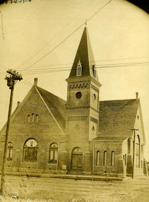 Primary view of object titled 'Broadway Methodist Church in Ardmore'.