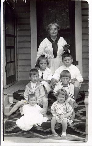 Primary view of object titled 'Sarah Harland and Great Grandchildren'.