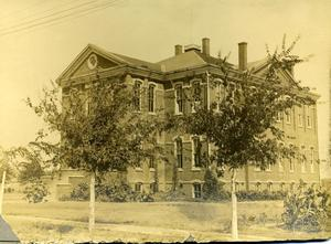 Primary view of object titled 'Third Ward School Building'.