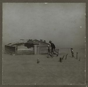 Primary view of object titled 'Arthur Goble and Sons, Cimarron County Dust Storm'.