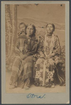 Primary view of object titled 'Otoe Tribal Members'.