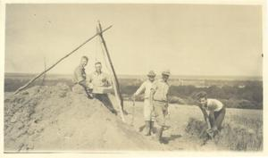 Primary view of object titled 'Men digging'.