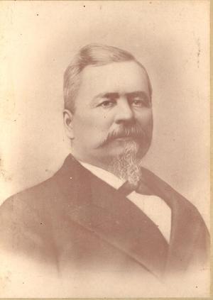 Primary view of Cherokee Chief Dennis W. Bushyhead