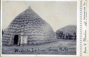 Primary view of object titled 'Wichita Grass Huts'.