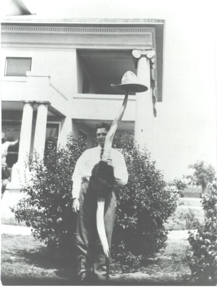 Longhorn Steer Horns - The Gateway to Oklahoma History