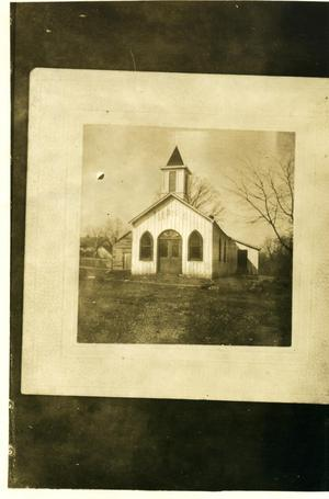 Primary view of object titled 'Skullyville Episcopal Church'.