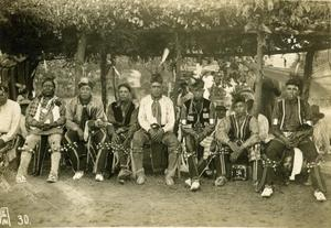Primary view of object titled 'Pawnee Dancers'.