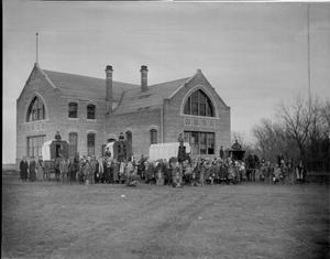 Primary view of object titled 'Boone Township Consolidated School'.