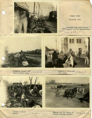 Primary view of object titled 'Five Scenes from Oklahoma City'.