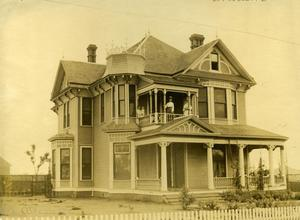 Primary view of object titled 'M. Alexander Home in Ardmore, Oklahoma'.