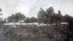Primary view of Seminole Burial Ground near Wewoka