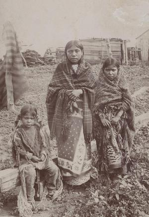 Primary view of object titled 'Kiowa Apache Children'.