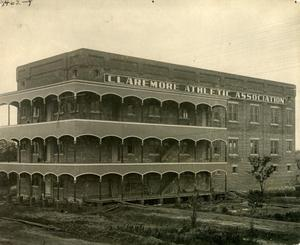 Primary view of object titled 'Claremore Athletic Association Building'.