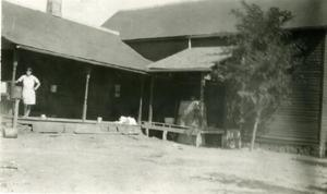 Primary view of object titled 'Home of John Jumper, Chief of the Seminoles'.
