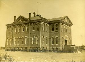 Primary view of object titled 'First Ward School Building'.