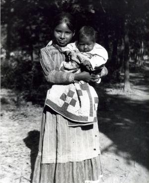 Primary view of object titled 'Choctaw Woman'.