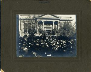 Primary view of object titled 'Inauguration of Governor Charles N. Haskell'.