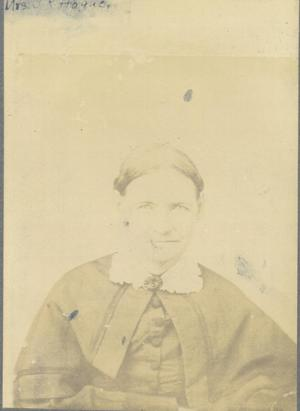 Primary view of object titled 'Mrs. J.R. Hogue. Mary?'.