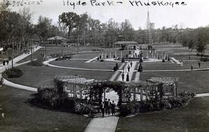 Primary view of object titled 'Hyde Park in Muskogee'.