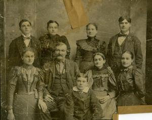 Primary view of object titled 'Chickasaw Dan Collins and Family'.