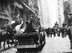 Primary view of object titled 'Wiley Post New York City parade'.