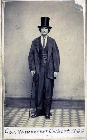 Primary view of Chickasaw Governor Winchester Colbert