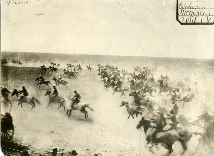 Cherokee strip run