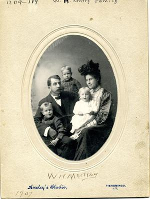 Primary view of object titled 'William H. Murray family.'.