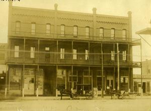 Primary view of object titled 'Gilmore Hotel in Ardmore, Oklahoma'.
