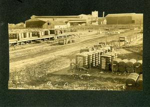 Primary view of object titled 'National Cotton Yard in Ardmore'.