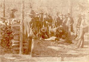 Primary view of object titled 'Choctaw Execution of Silan Lewis'.